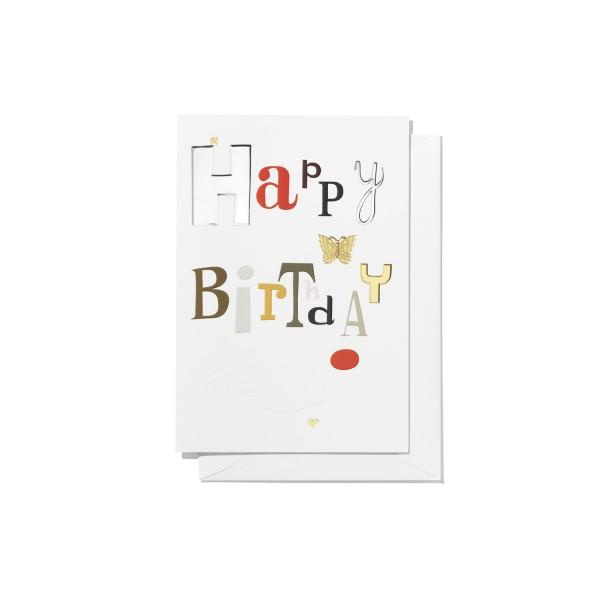 Vitra Grußkarte Greeting Cards, Happy Birthday large