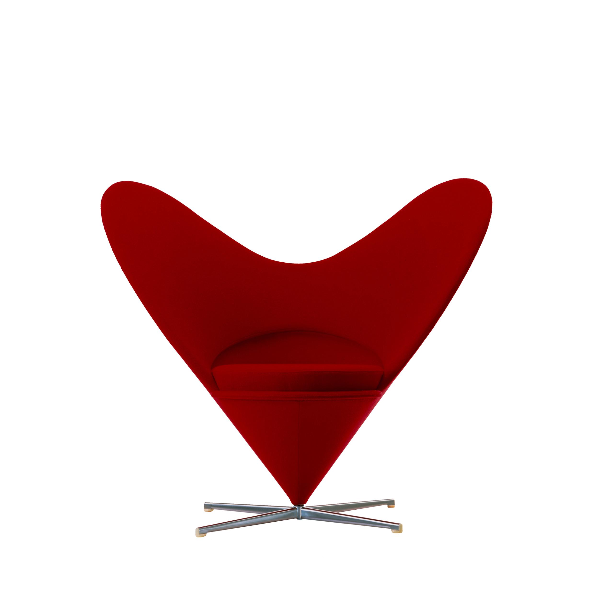 vitra sessel heart cone chair von verner panton. Black Bedroom Furniture Sets. Home Design Ideas