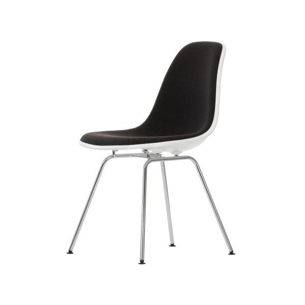 Vitra Stuhl Eames Plastic Side Chair DSX mit Polsterung
