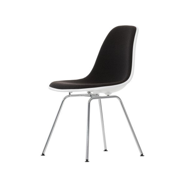 Vitra Stuhl Eames Plastic Side Chair DSX mit Polsterung