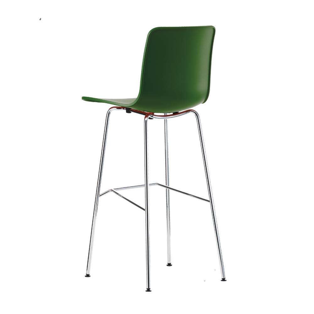 Barhocker mit Rückenlehne HAL high von Vitra   designikonen   Designmöbel Shop