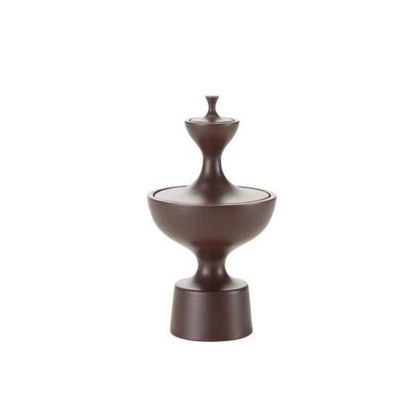 Vitra Ceramic Container No. 1 dark aubergine