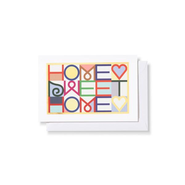Vitra Grußkarte Greeting Cards, Motiv Home Sweet Home