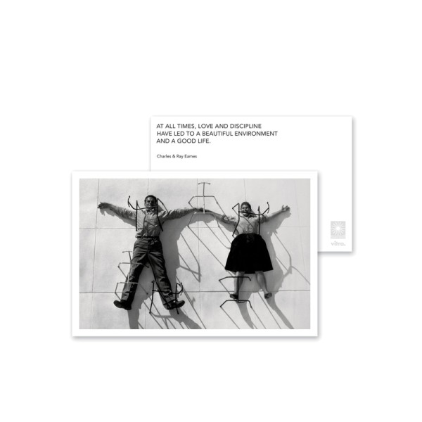 Vitra Grußkarte Eames Quotes Greeting Card Love and Discipline medium