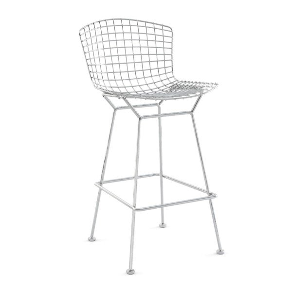 Knoll International Bertoia Barhocker verchromt Quickship