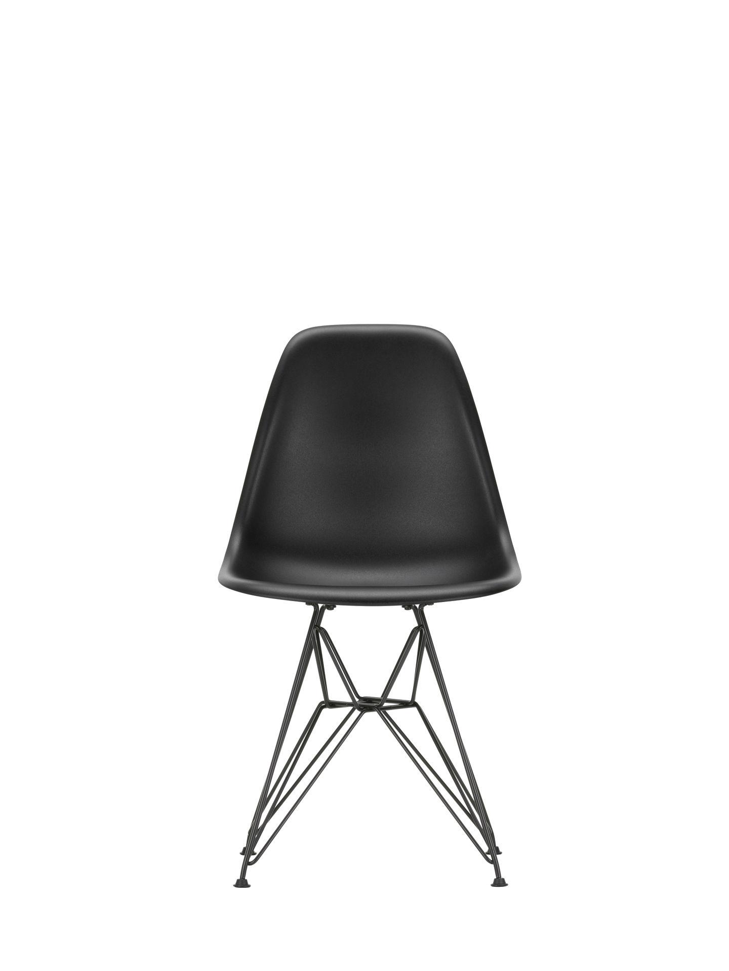 Vitra Eames Plastic Side Chair Dsr Charles Und Ray Eames Black Quickship Designikonen Designmobel Shop