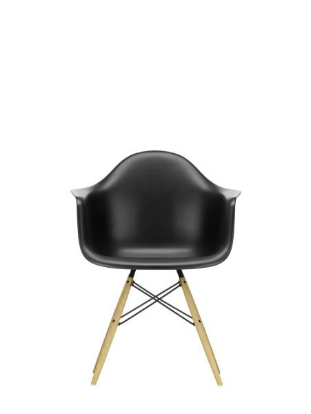 Vitra Stuhl Esche Eames Plastic Armchair DAW tiefschwarz Quickship