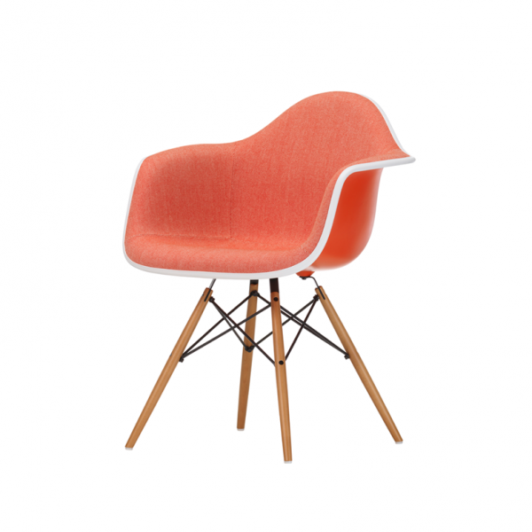 Vitra Eames Stuhl Armchair DAW mit Polsterung