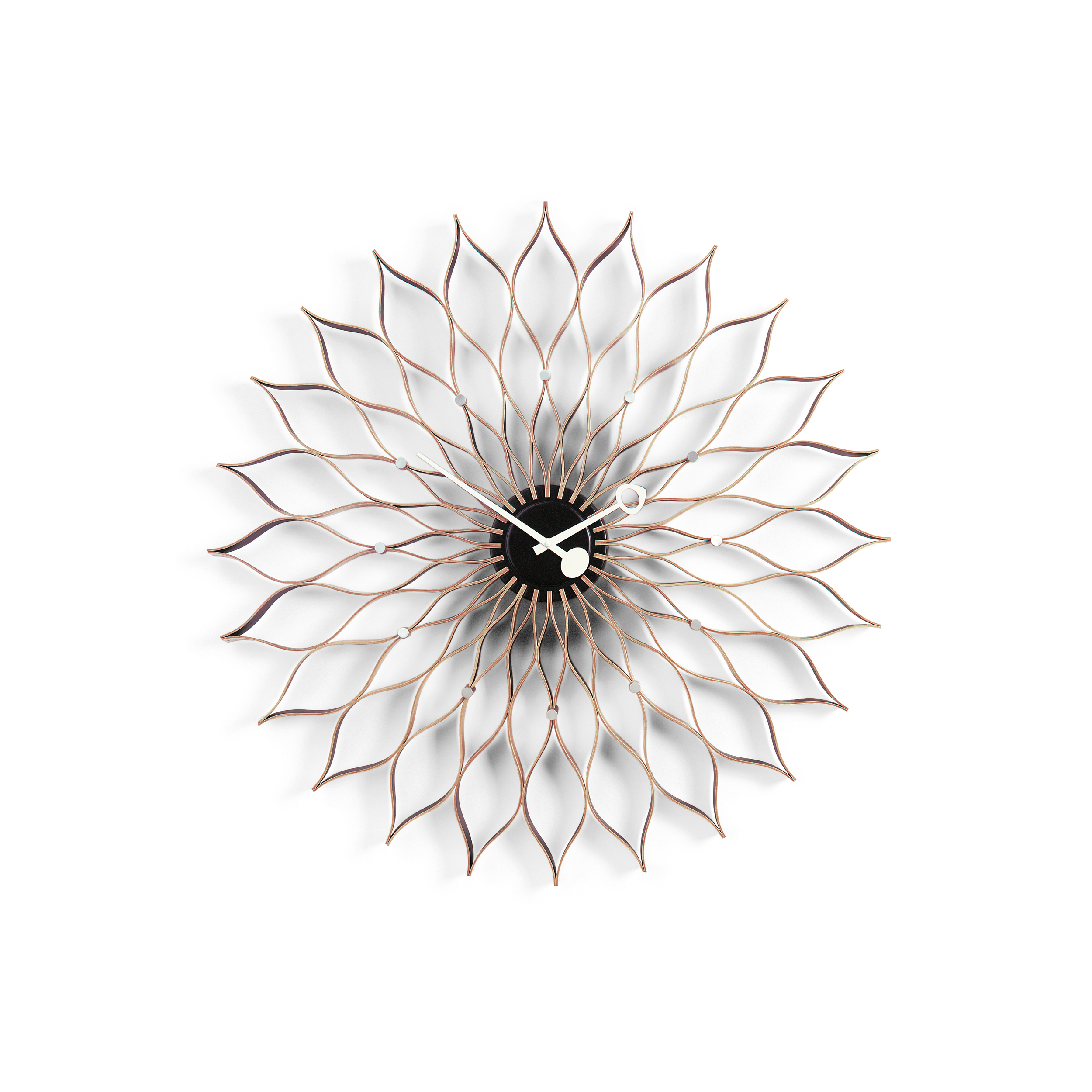 vitra wanduhr sunflower clock von george nelson. Black Bedroom Furniture Sets. Home Design Ideas