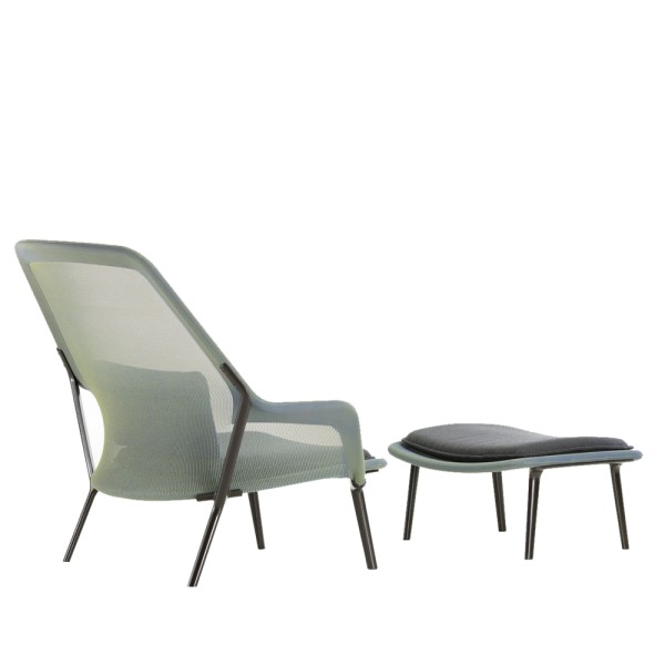Vitra Sessel Slow Chair + Ottoman