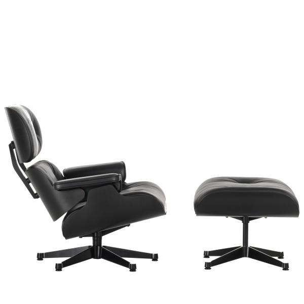 Sessel Eames vitra lounge chair ottoman xl sessel black edition designikonen