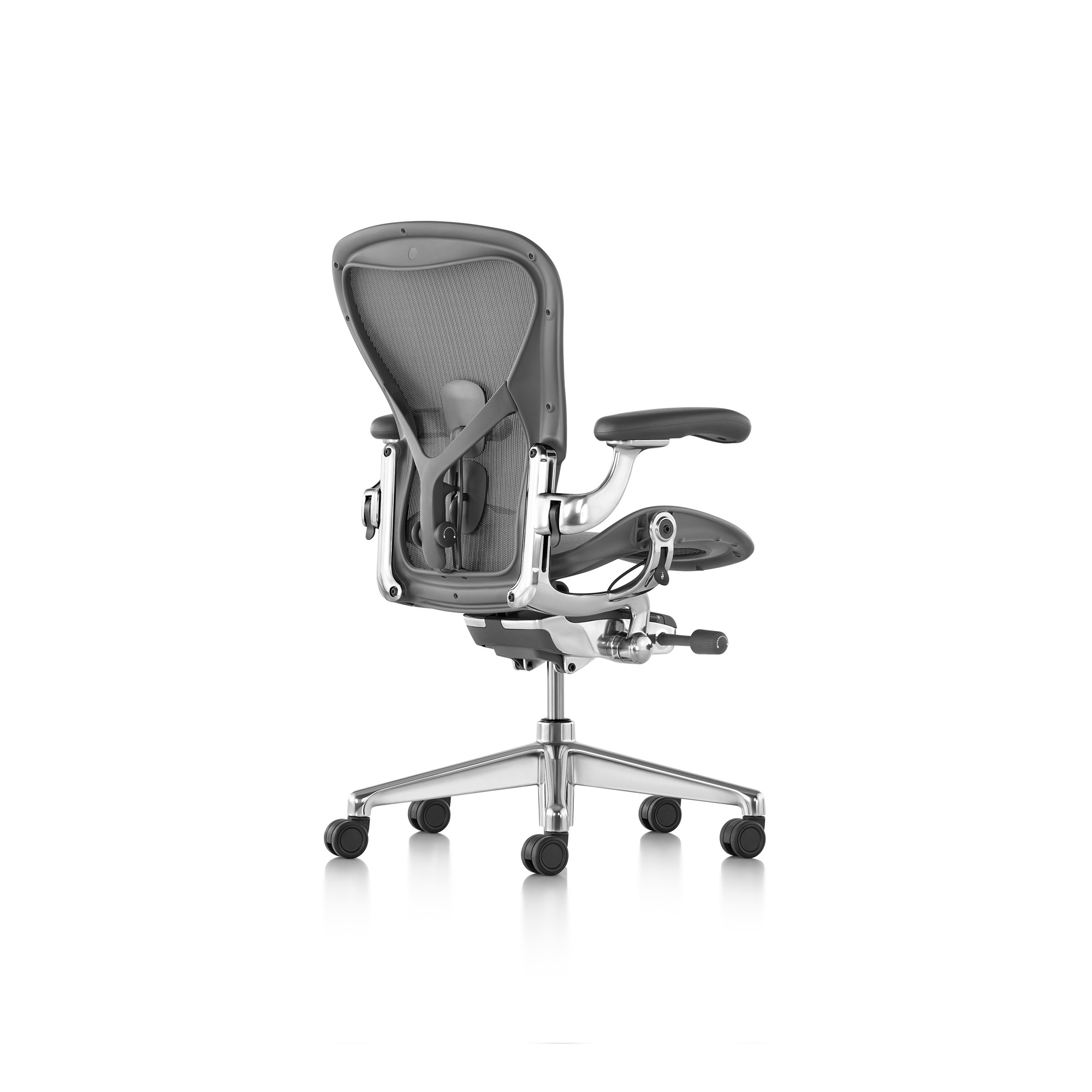 herman miller b rostuhl aeron gr e b in farbe carbon designikonen designm bel shop. Black Bedroom Furniture Sets. Home Design Ideas