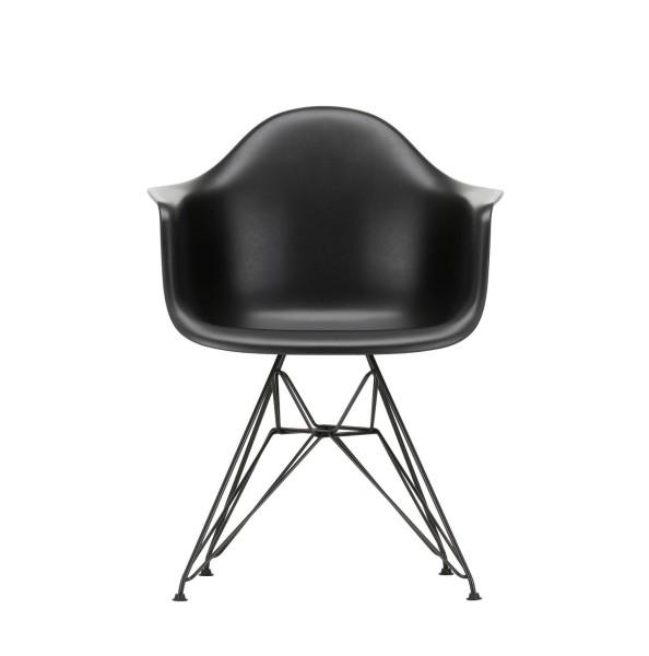 Vitra Eames Plastic Armchair DAR pure black