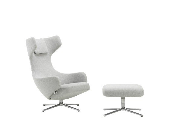 Vitra Sessel Grand Repos + Ottoman Dumet Aktion UPGRADE