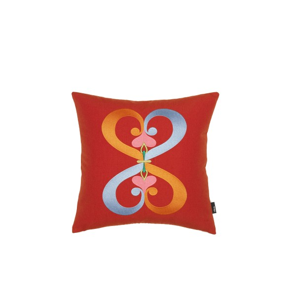 Vitra Kissen Embroidered Double Heart