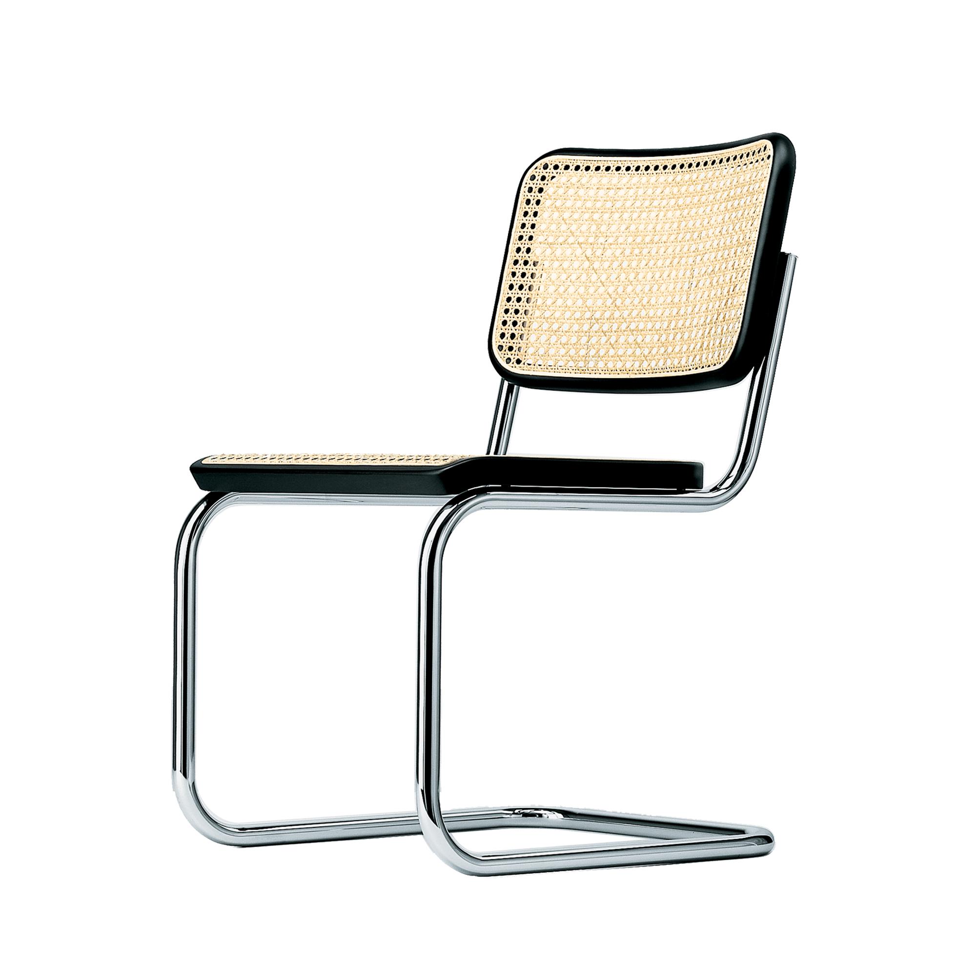 Thonet Stuhl S 32 Stahlrohrklassiker Mit Rohrgeflecht Designikonen Designmobel Shop