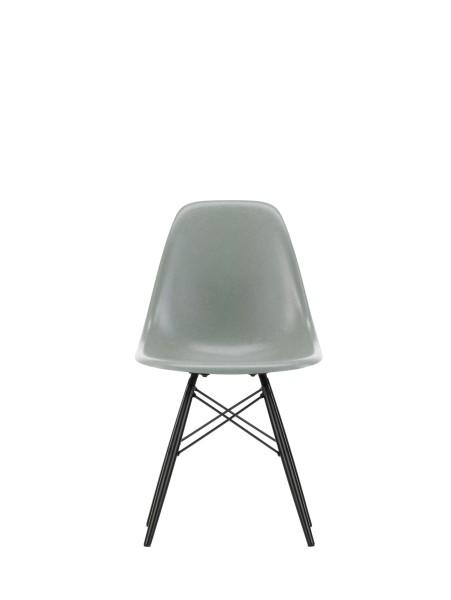 Vitra Stuhl Eames Fiberglass Side Chair DSW Sea Foam Grey Ahorn schwarz Quickship