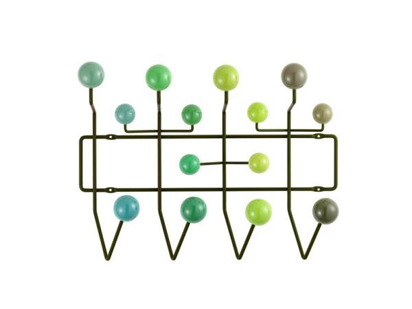 Vitra Wandgarderobe Eames hang it all grün