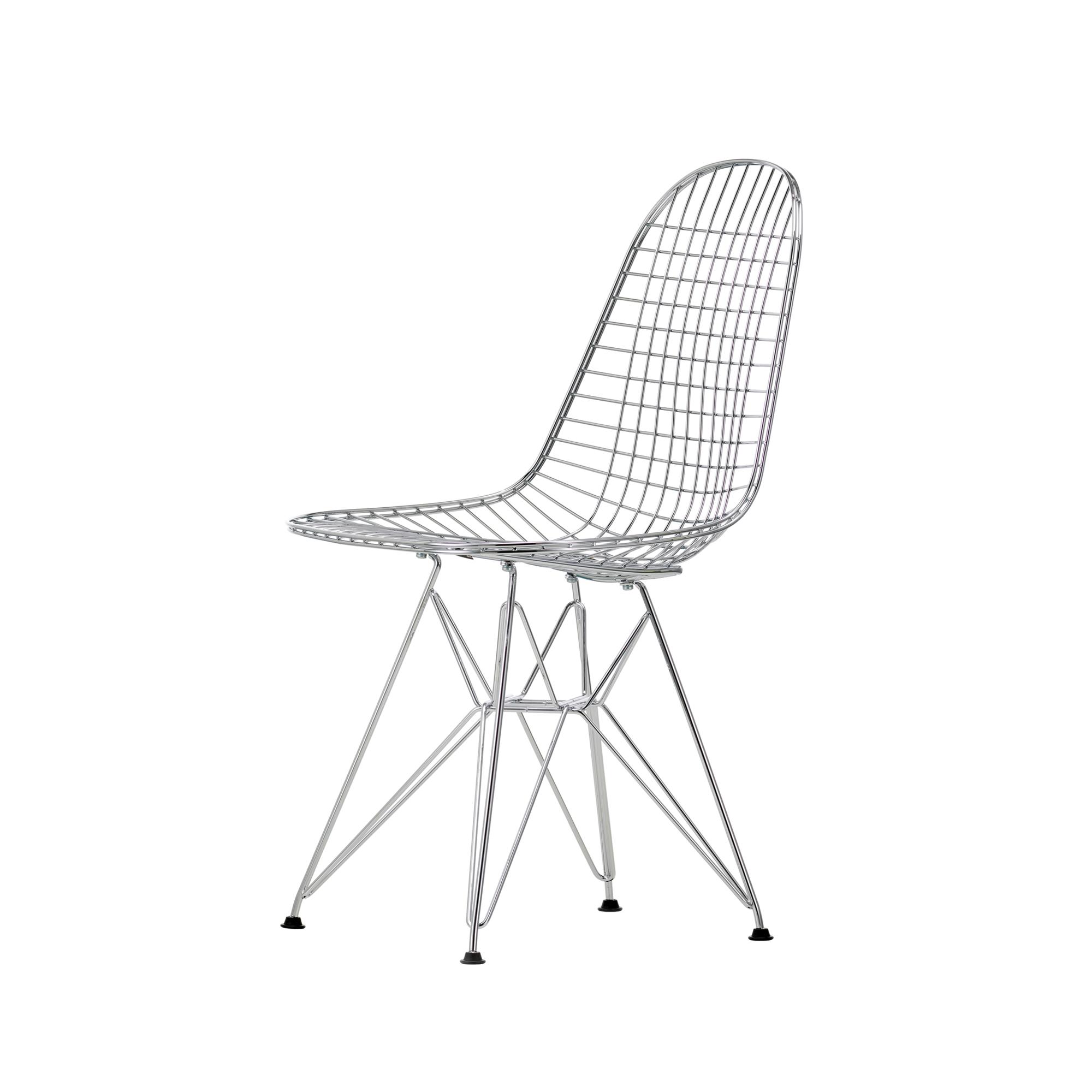 vitra eames wire chair dkr verchromt oder pulverbechichtet ohne polster designikonen. Black Bedroom Furniture Sets. Home Design Ideas
