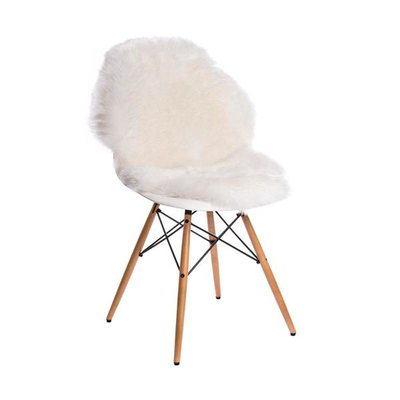 Lammfell Chair Und Weiß Sessel Eames DEWHI29Y