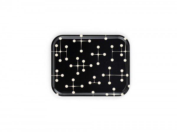 Vitra Tablett Classic Tray Dot Pattern reverse dark