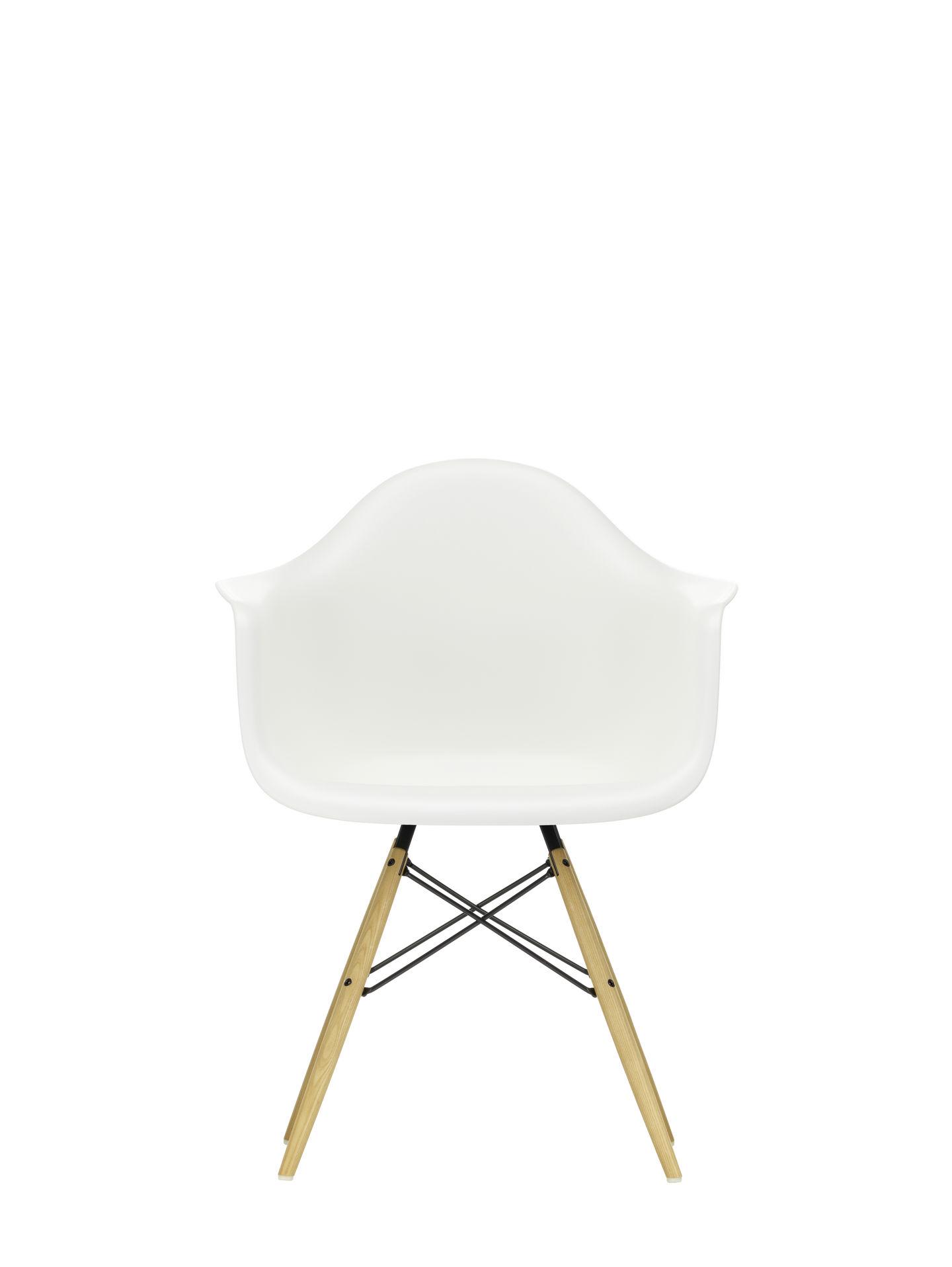 Vitra Stuhl Eames Plastic Armchair DAW weiß Esche Quickship