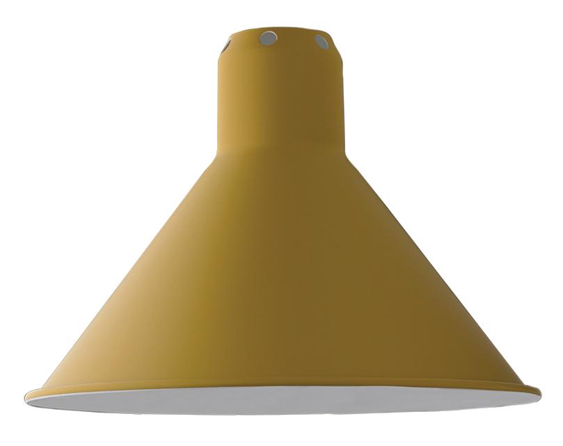 DCW_lampenschirm_konisch_gelb