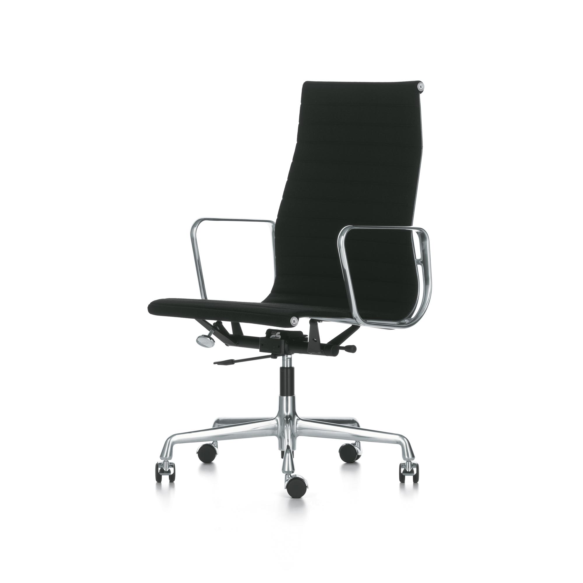 Vitra Eames Aluminium Group EA 119 Bürostuhl hoher Rücken designikonen