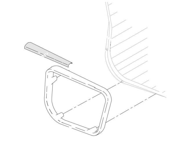 vitra Lederarmauflagen für Alu-Chair/Soft-Pad (Paarweise)