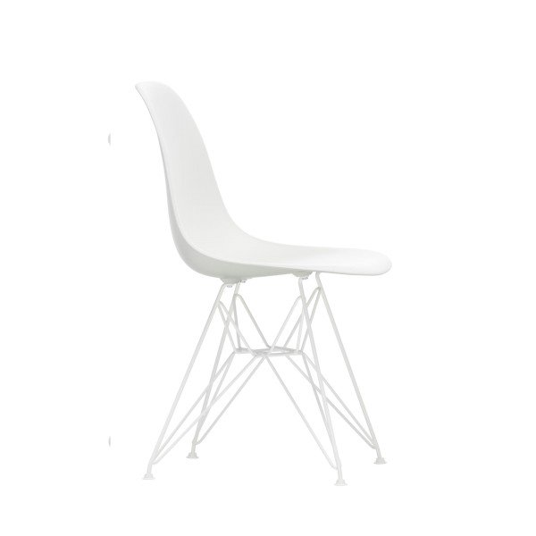 Vitra Stuhl Eames Plastic Side Chair DSR white edition