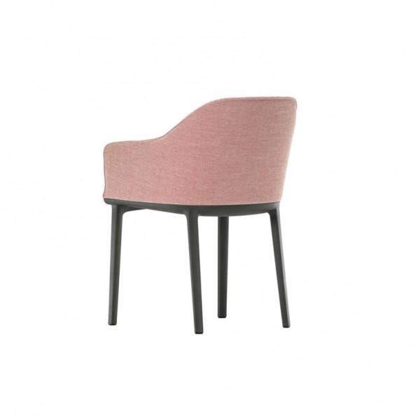Vitra Stuhl Softshell Chair, Vierbeinfuss
