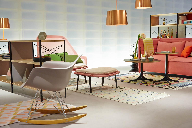 Eames Plastic Armchair Rar Schaukelstuhl Von Vitra Kaufen