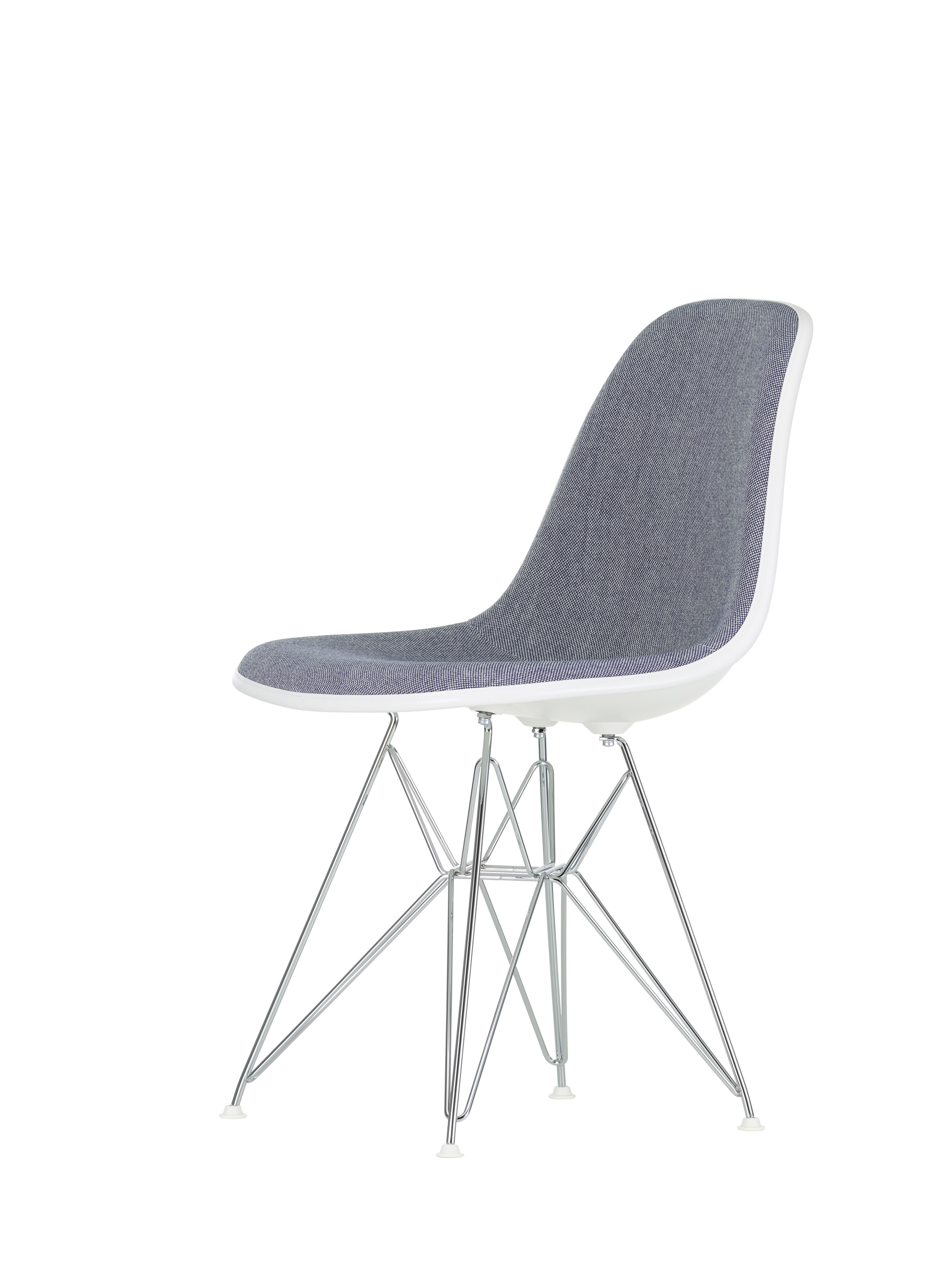 vitra stuhl eames plastic sidechair dsr mit polsterung. Black Bedroom Furniture Sets. Home Design Ideas