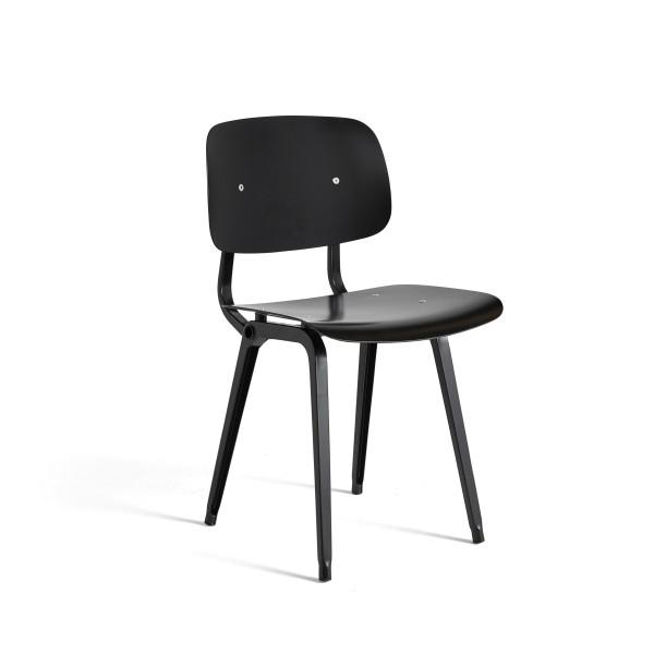 Hay Stuhl Revolt Chair black black, Friso Kramer