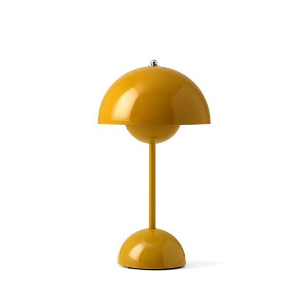 &tradition Tischleuchte Flowerpot VP9 mustard