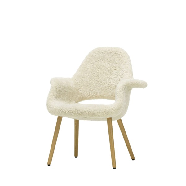 Vitra Sessel Organic Chair Sheepskin limited edition