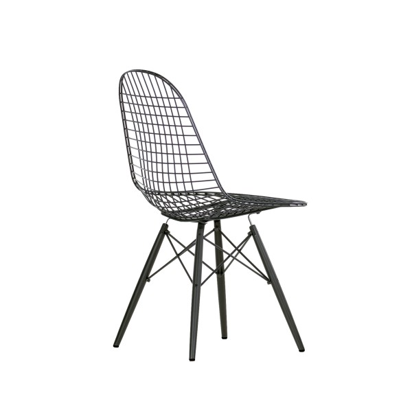 Vitra Stuhl Eames Wire Chair Wood DKW