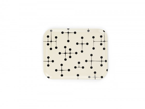 Vitra Tablett Classic Tray Dot Pattern light