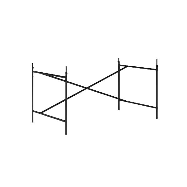 Gestell Eiermann 2 schwarz 100cm x 66 cm, exzentrisch
