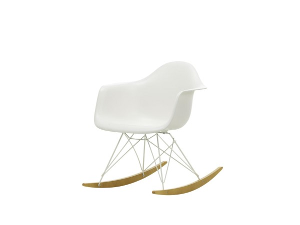Vitra Schaukelstuhl Eames RAR White Edition