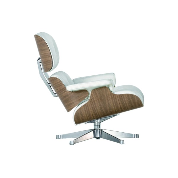 Vitra Sessel Eames Lounge Chair White Version