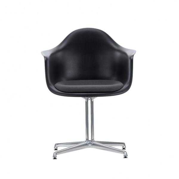 Vitra Stuhl Eames Armchair DAL mit Polsterung