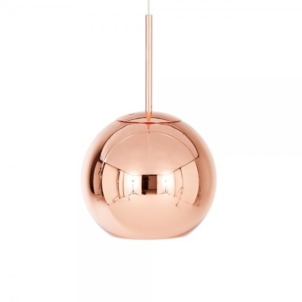 Tom Dixon Pendelleuchte Copper Round, 25 cm