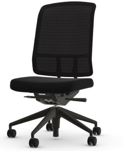 Vitra Bürodrehstuhl AM Chair ohne Armlehnen