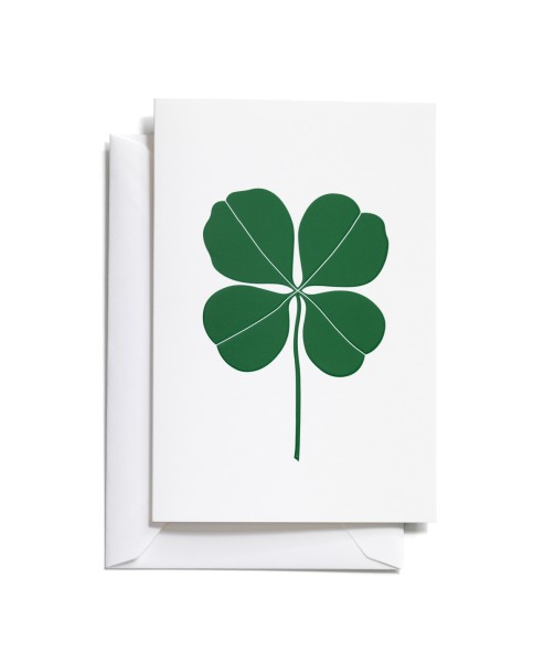 Vitra Grußkarte Greeting Card Four Leaf Clover medium