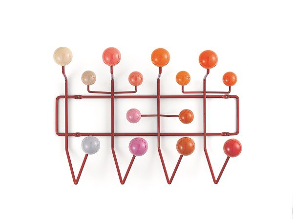Vitra Wandgarderobe Eames hang it all rot