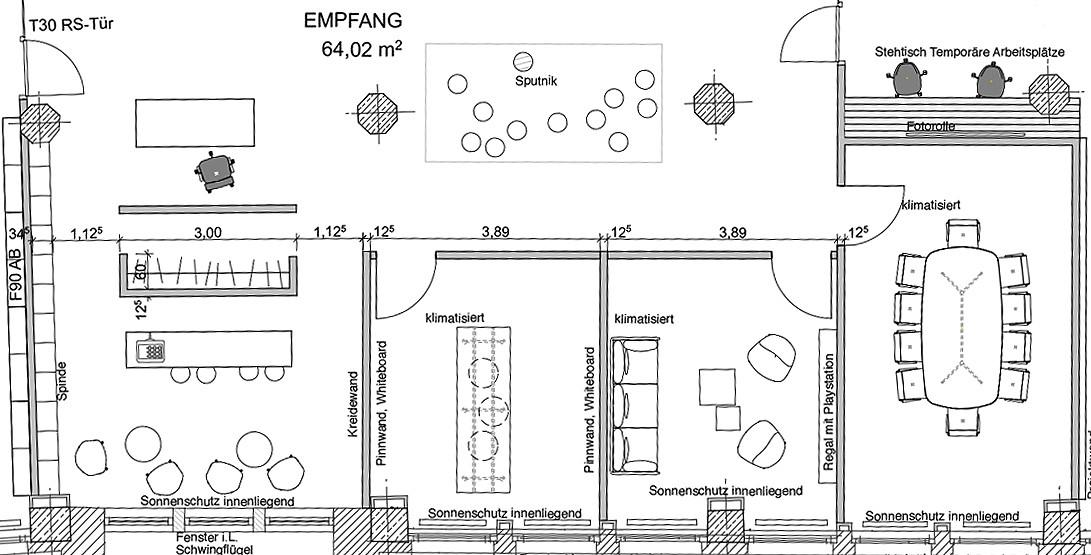 Punct Object beratung planung bei möblierung bürokonzepte designikonen